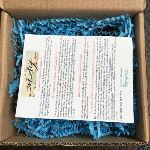 Kloverbox Review + Coupon Code - May 2018
