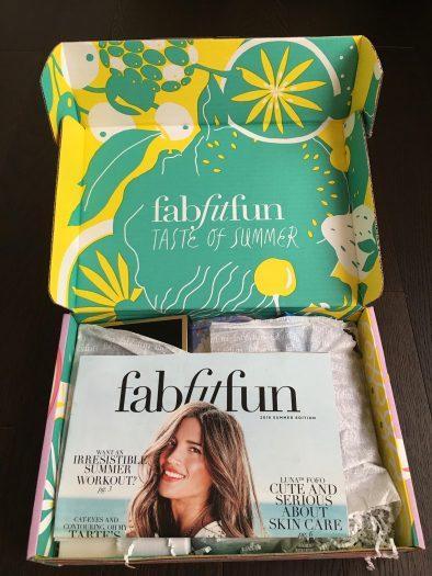FabFitFun Summer 2018 Review + Coupon Code