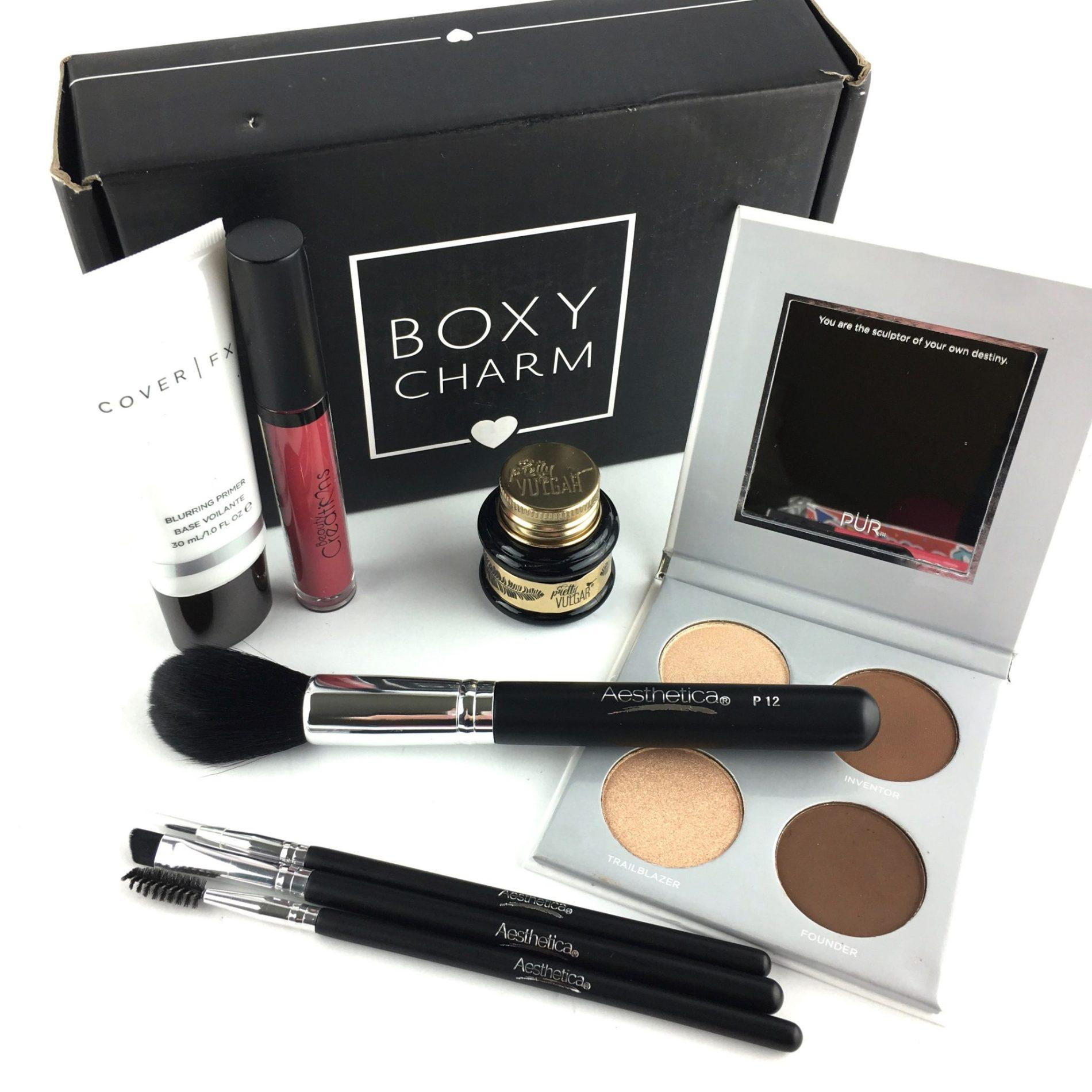 BOXYCHARM Subscription Review – May 2018