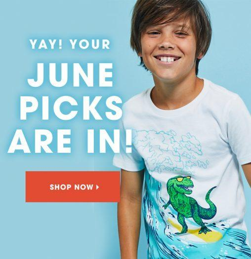 June 2018 FabKids Selection Time + New Subscriber Offer