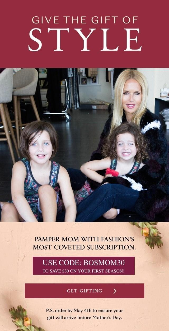 Box of Style by Rachel Zoe Mother's Day Sale – Save $30!