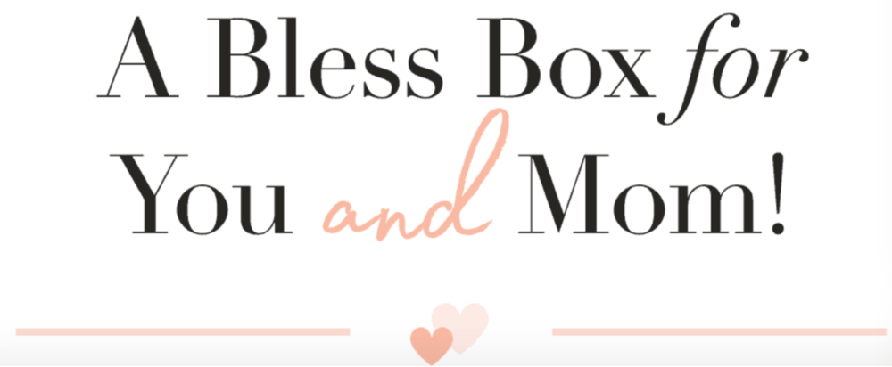 Bless Box Mother's Day Coupon Code – Free Past Box with New Subscription