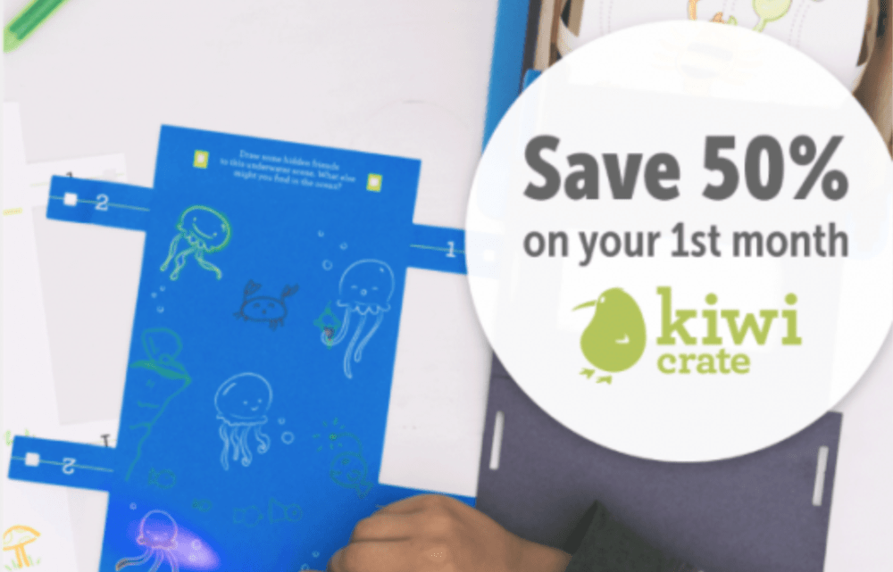 Kiwico coupon codes 50 off first box 10 off single crates home to kiwi crate doodle crate koala crate and tinker crate is offering new customers 50 off their first month use coupon code save50 at checkout malvernweather Choice Image