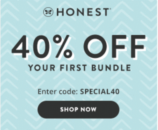 Honest Company Sale – 40% Off For New Members!
