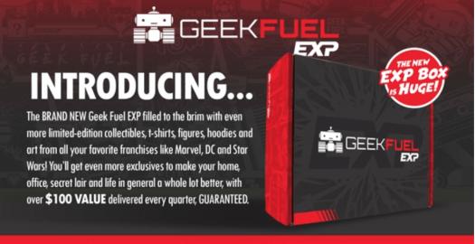 Geek Fuel May 2018 Spoiler #1 + Coupon Code