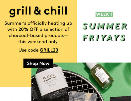 Birchbox – Save 20% Off The Grill & Chill Collection!
