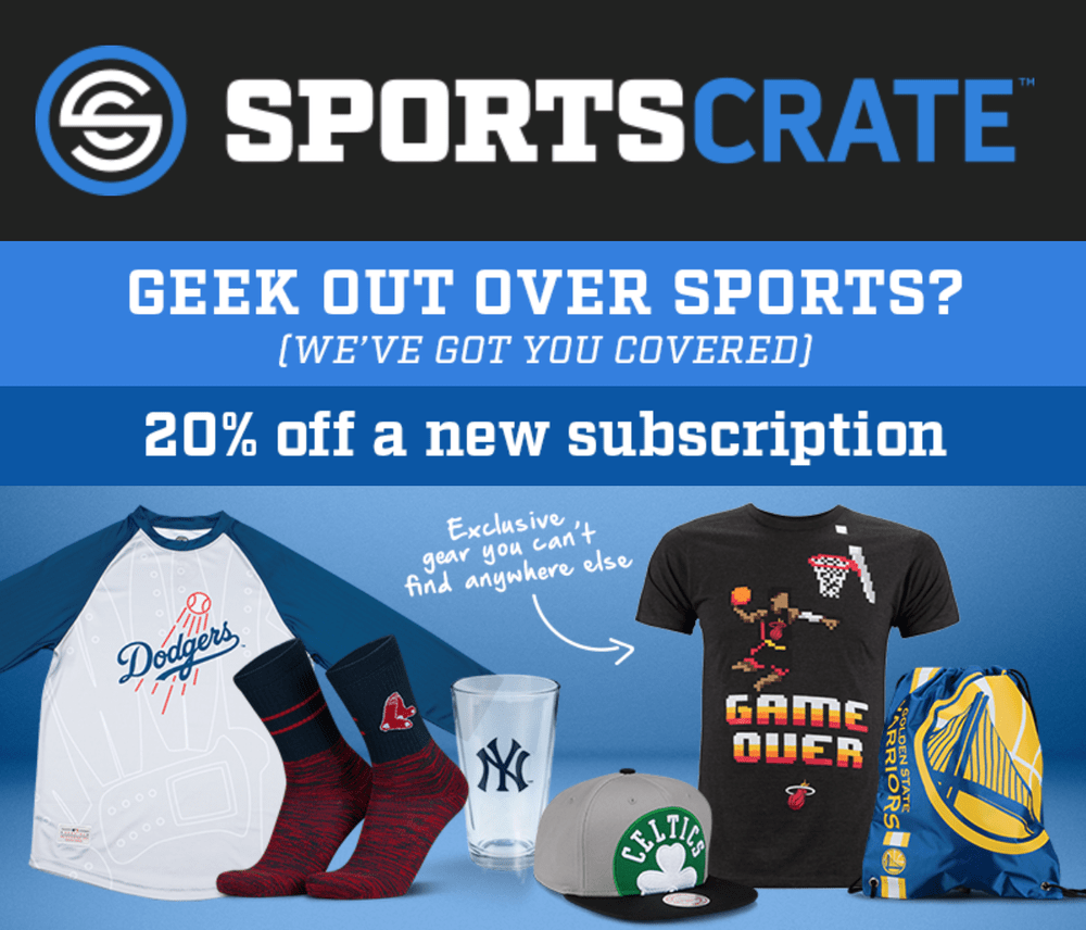 Sports Crate by Loot Crate Coupon Code – Save 20%!
