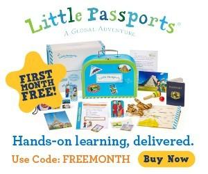 Little Passports Coupon Code – Free Month New 6 or 12-Month Subscriptions