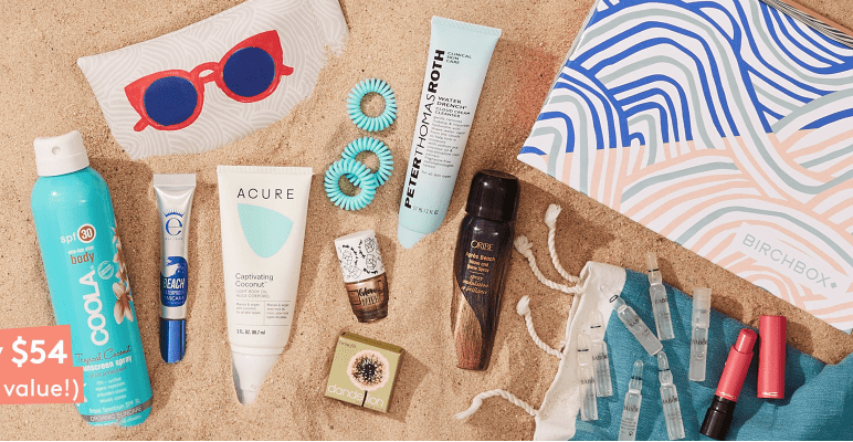 Birchbox Limited Edition: Ready, Set, Summer Box – On Sale Now + Coupon Codes!