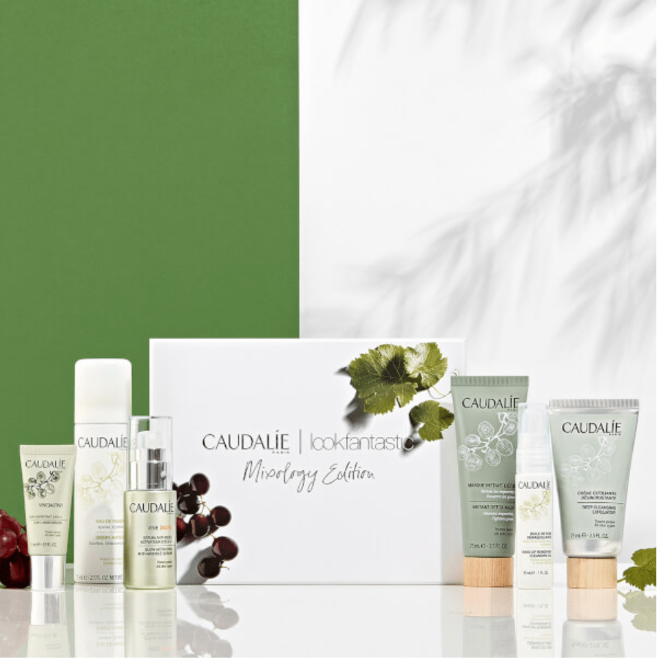 Lookfantastic X Caudalie Mixology Limited Edition Beauty Box – On Sale Now!