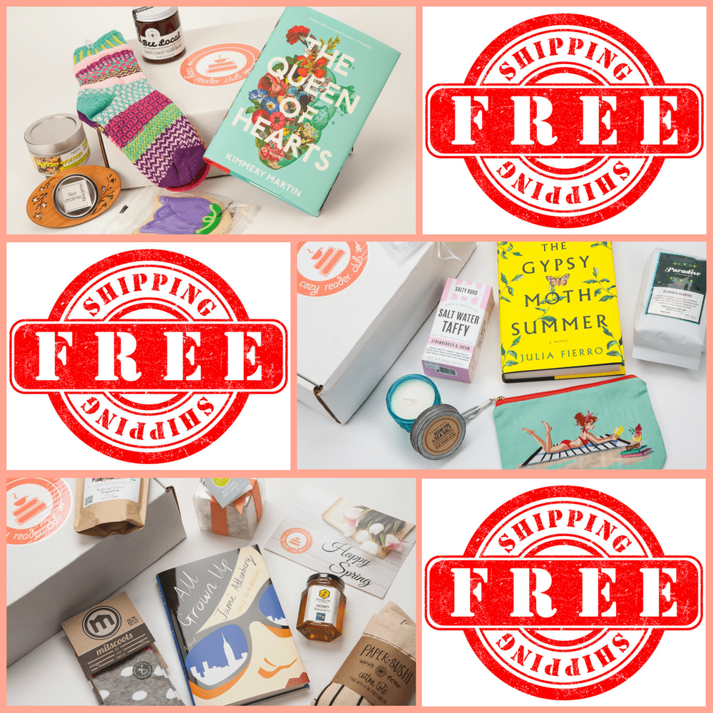 Cozy Reader Club Coupon Code – Free Shipping for Life!