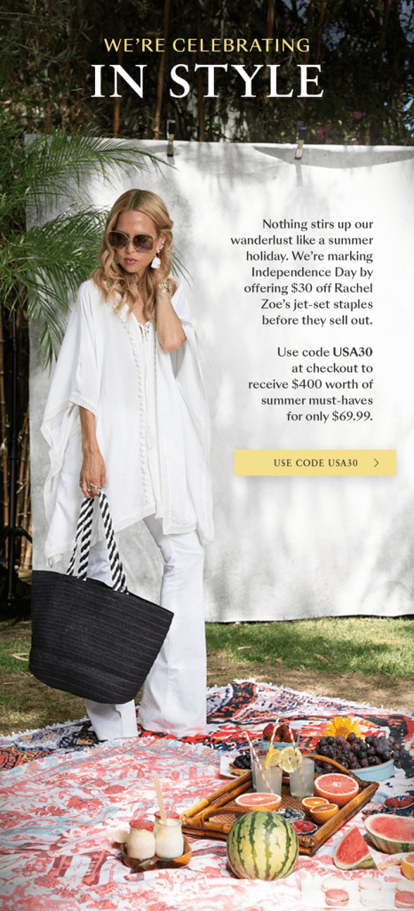 Box of Style by Rachel Zoe $30 Coupon Code + SUMMER 2018 Full SPOILERS