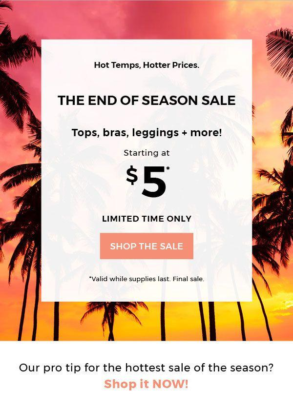 Fabletics End of Season Sale!