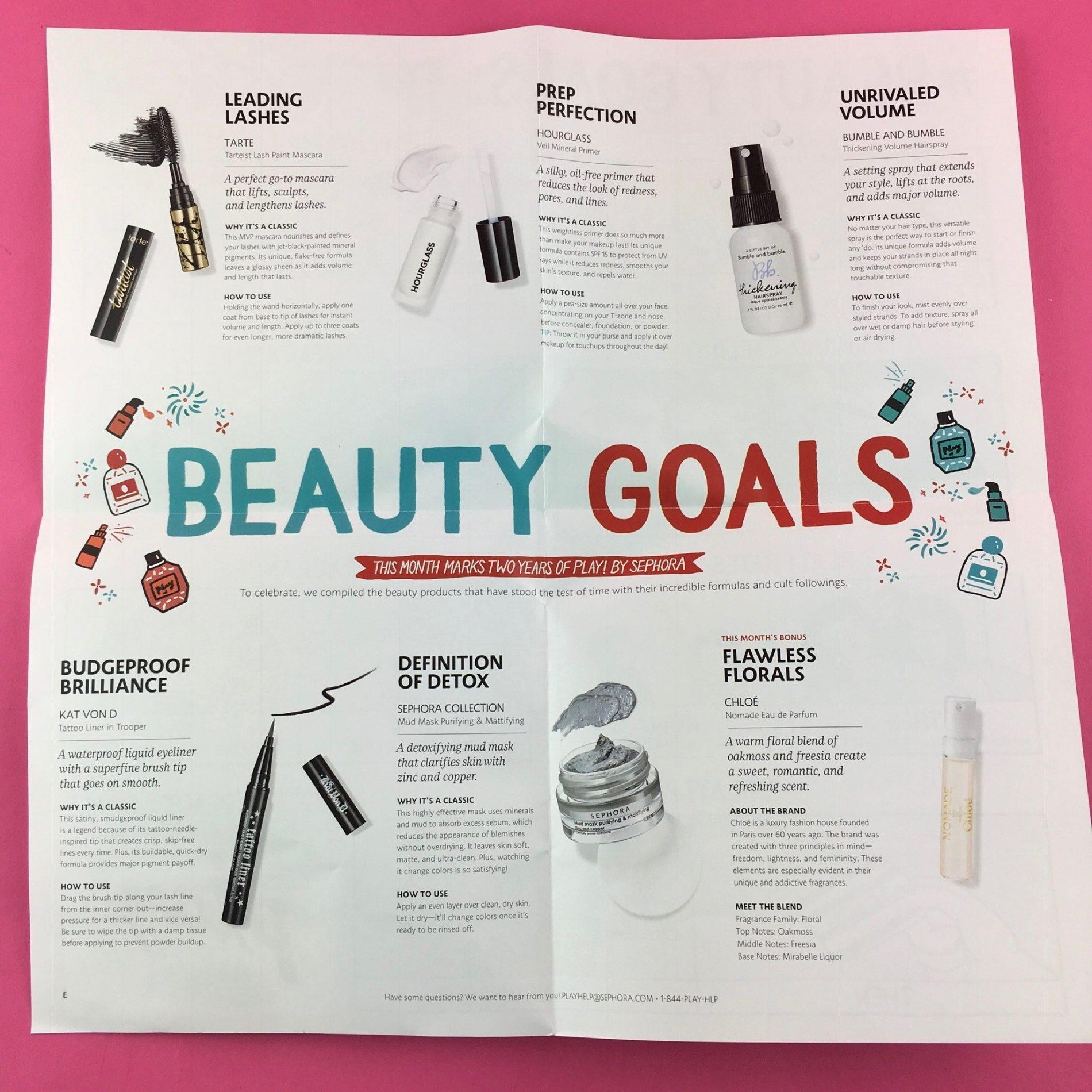 Monthly makeup bag sephora