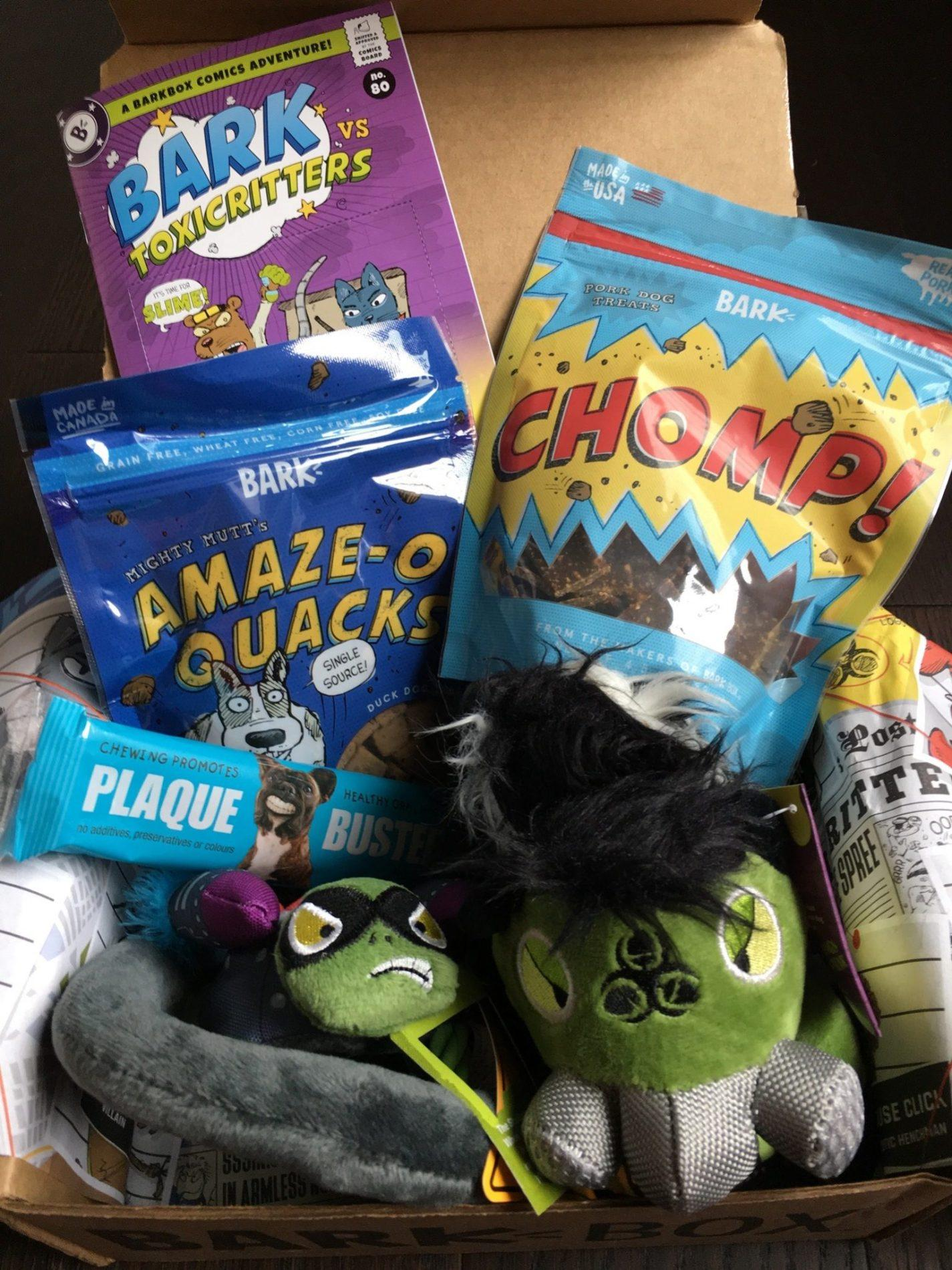 BarkBox Subscription Review + Coupon Code – July 2018