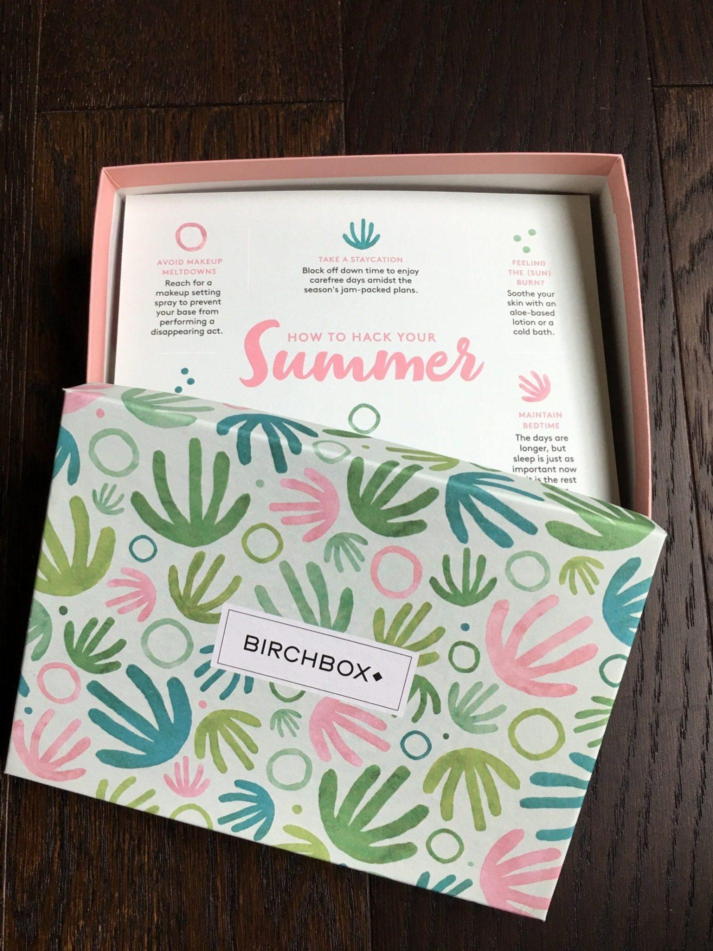 Birchbox Review + Coupon Code – July 2018