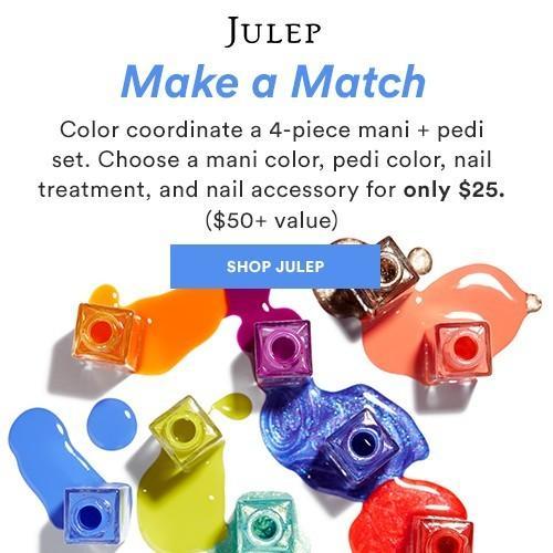 Julep Make a Match – BYO 4-Piece Mani + Pedi Set!