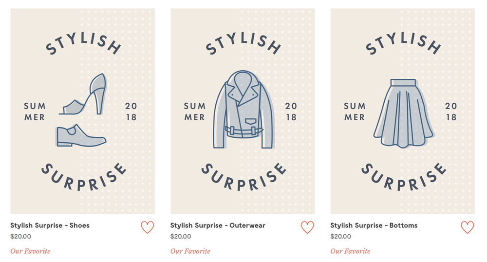 modcloth stylish surprise now available subscription box ramblings