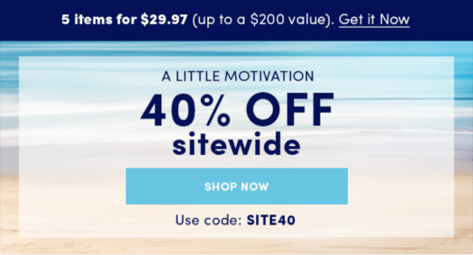 Ellie Coupon Code – Save 40% Off Sitewide!