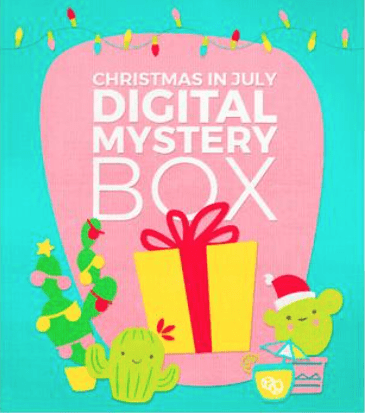 Cricuit Christmas in July 2018 Digital Mystery Box – On Sale Now + Coupon Code