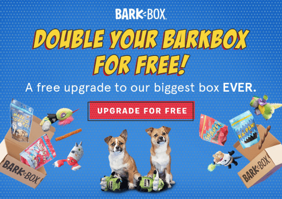 BarkBox Coupon Code: Double Toys in Your First Box
