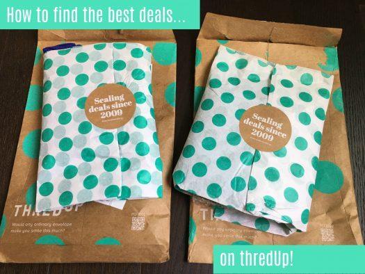 Tips, Tricks & Secrets for Scoring Great Deals on thredUp!