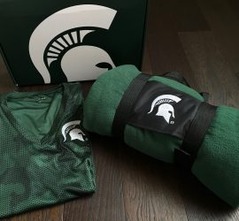 Spartan Box Michigan State Subscription Box Review - July 2018