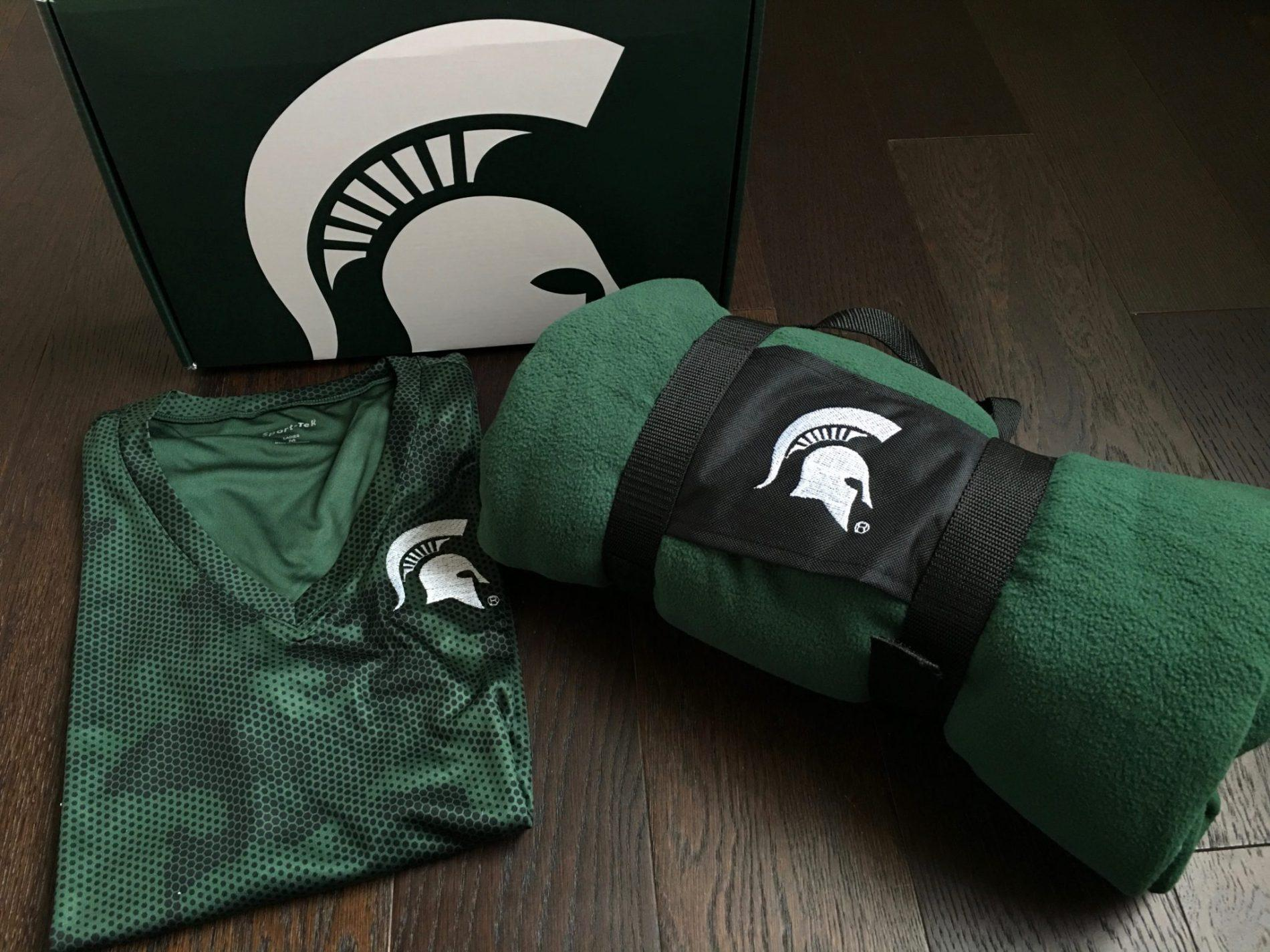 Spartan Box Michigan State Subscription Box Review – July 2018