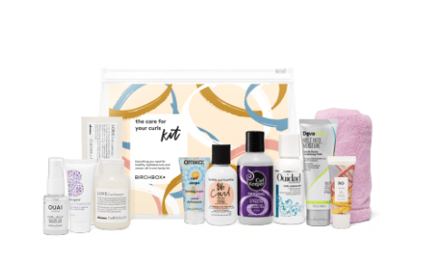 The Birchbox Care for Your Curls Kit + Coupon Code!