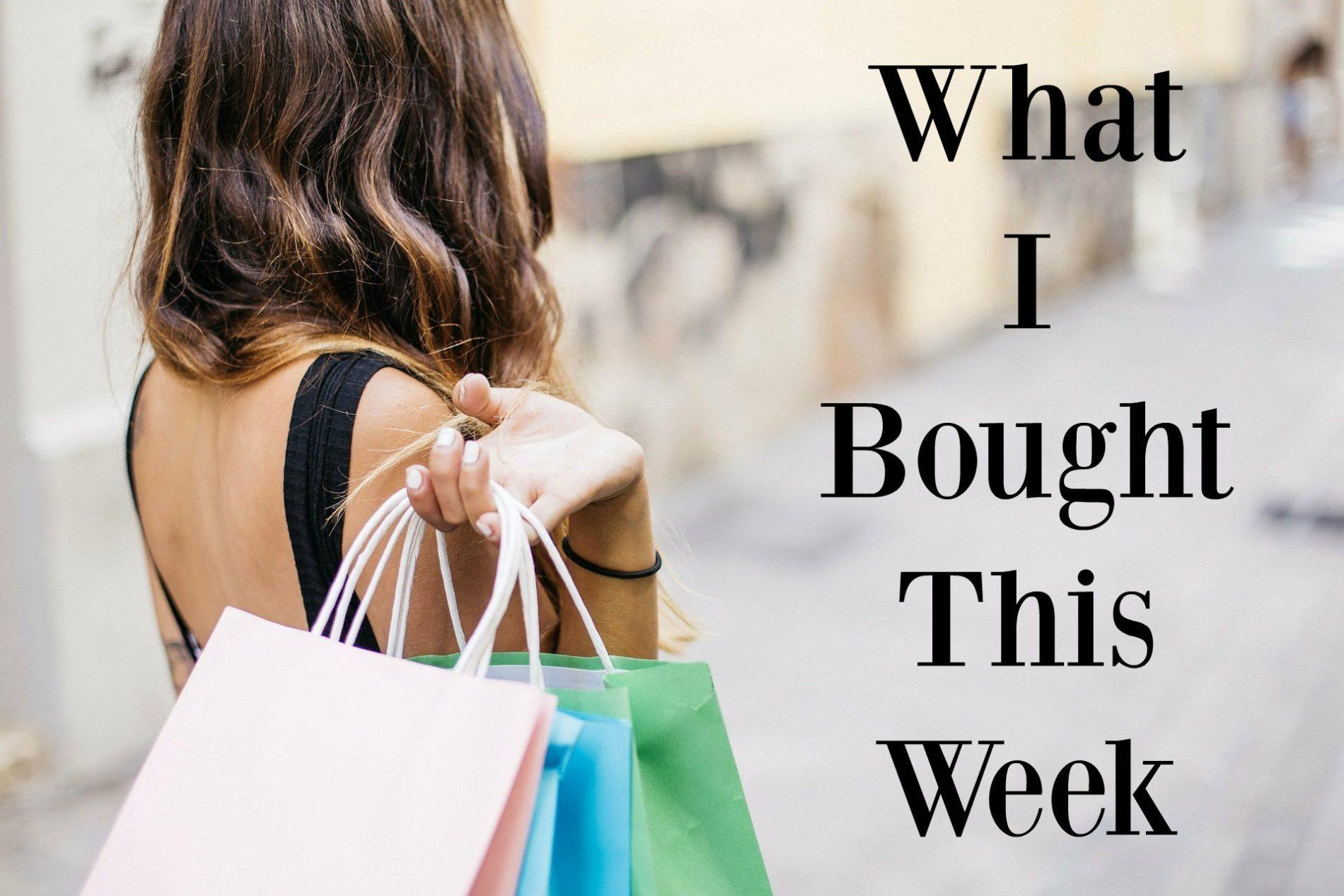 What I Bought This Week (Cyber Week Edition)!