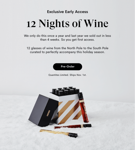 VINEBOX 12 Nights of Wine Advent Calendar – Available for Pre-Order