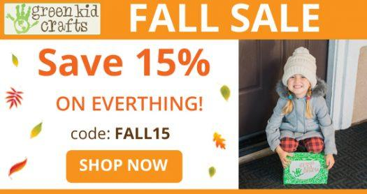 Green Kid Crafts – 15% Off All Subscription Plans!