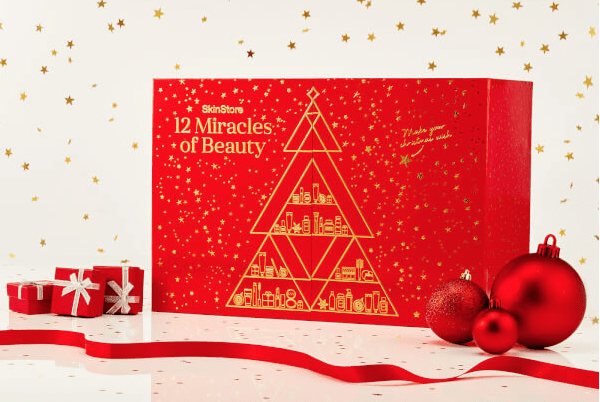 SkinStore 12 Miracles of Beauty 2018 Advent Calendar  – Free GLOSSYBOX with Purchase!
