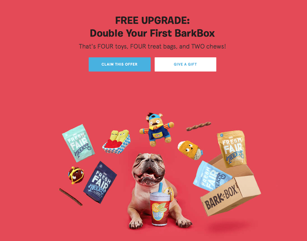 LAST DAY!  BarkBox Coupon Code: Double Your First Box