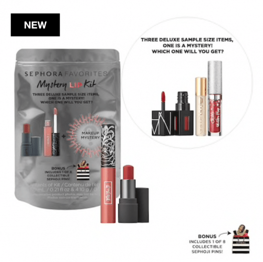 SEPHORA FAVORITES Mystery Lip Kit – On Sale Now + Coupon Codes