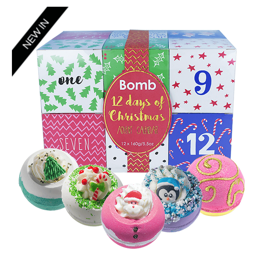 Bomb Cosmetics 12 Days of Christmas Advent Calendar Gift Pack