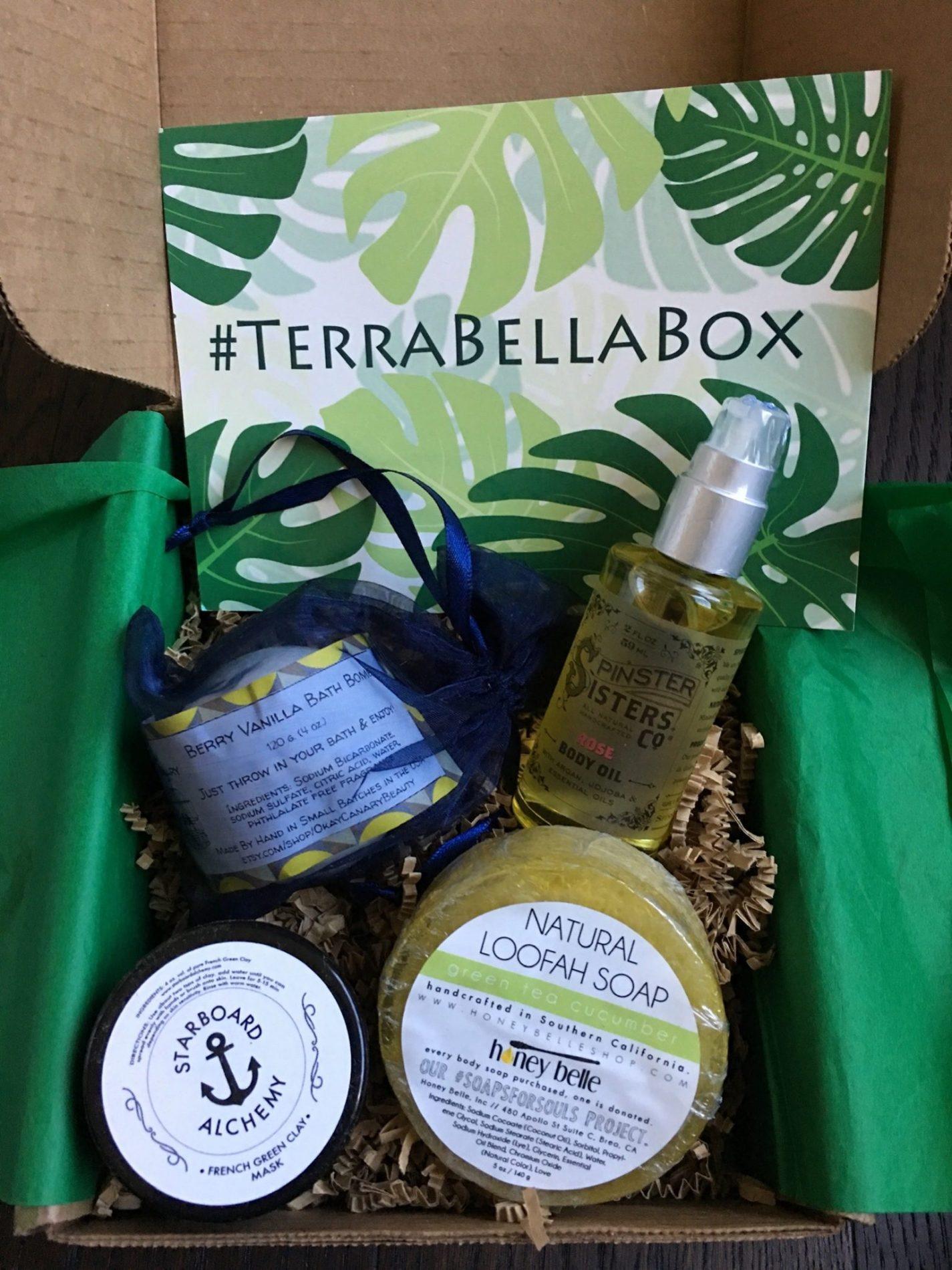Terra Bella Subscription Box Review – September 2018