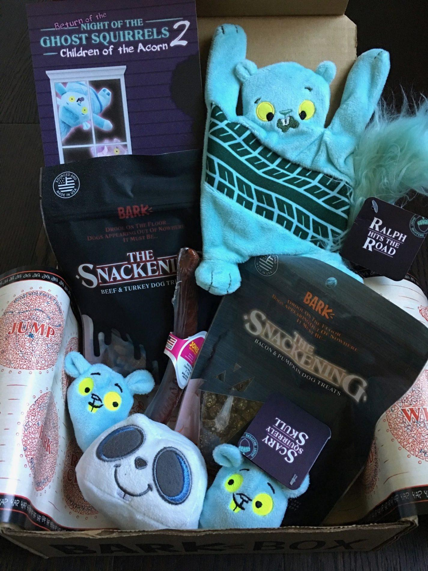 Barkbox Subscription Review Code October 2018