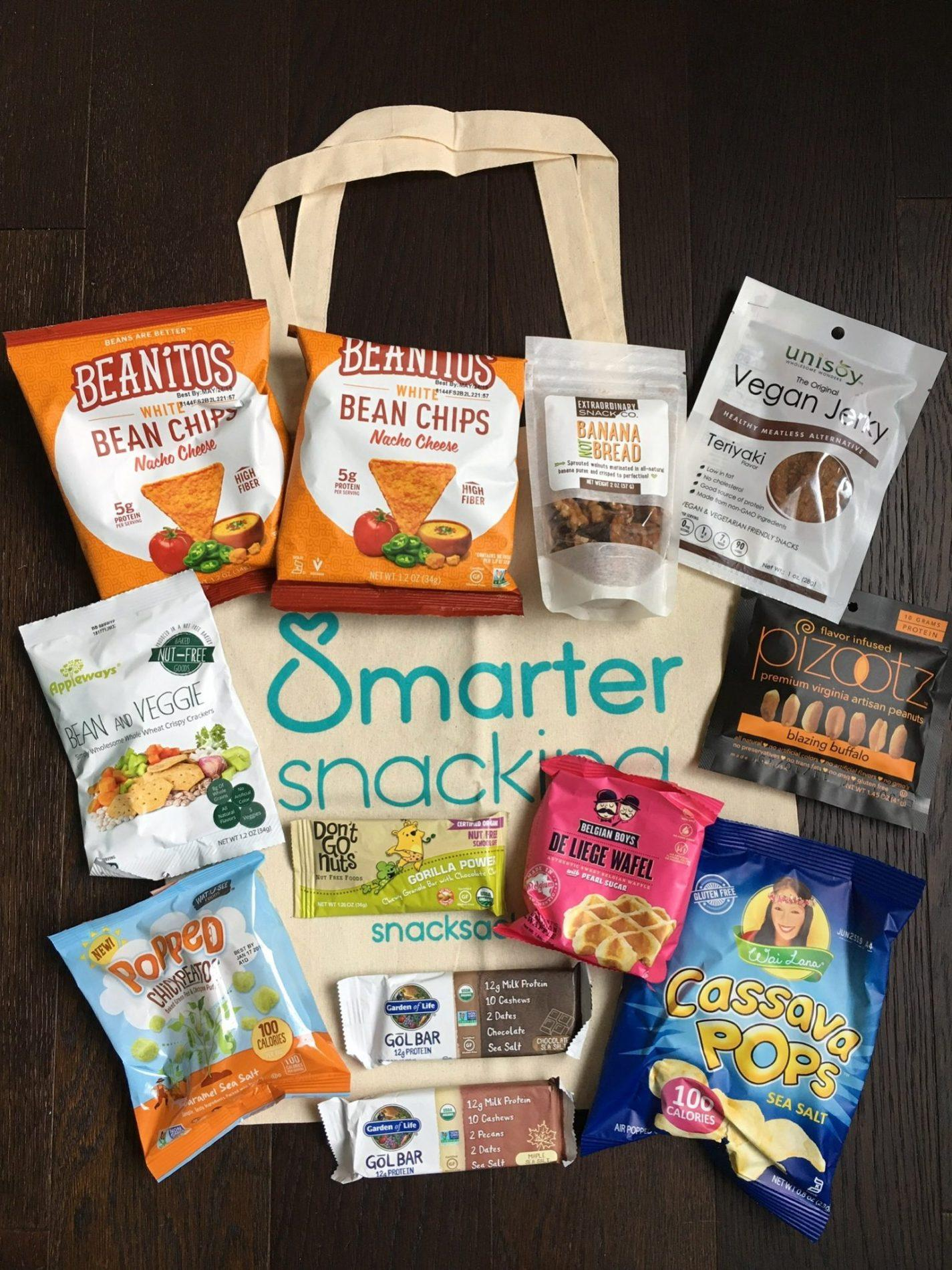 SnackSack Subscription Box Review – August 2018