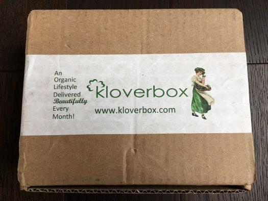 Kloverbox Review + Coupon Code - October 2018
