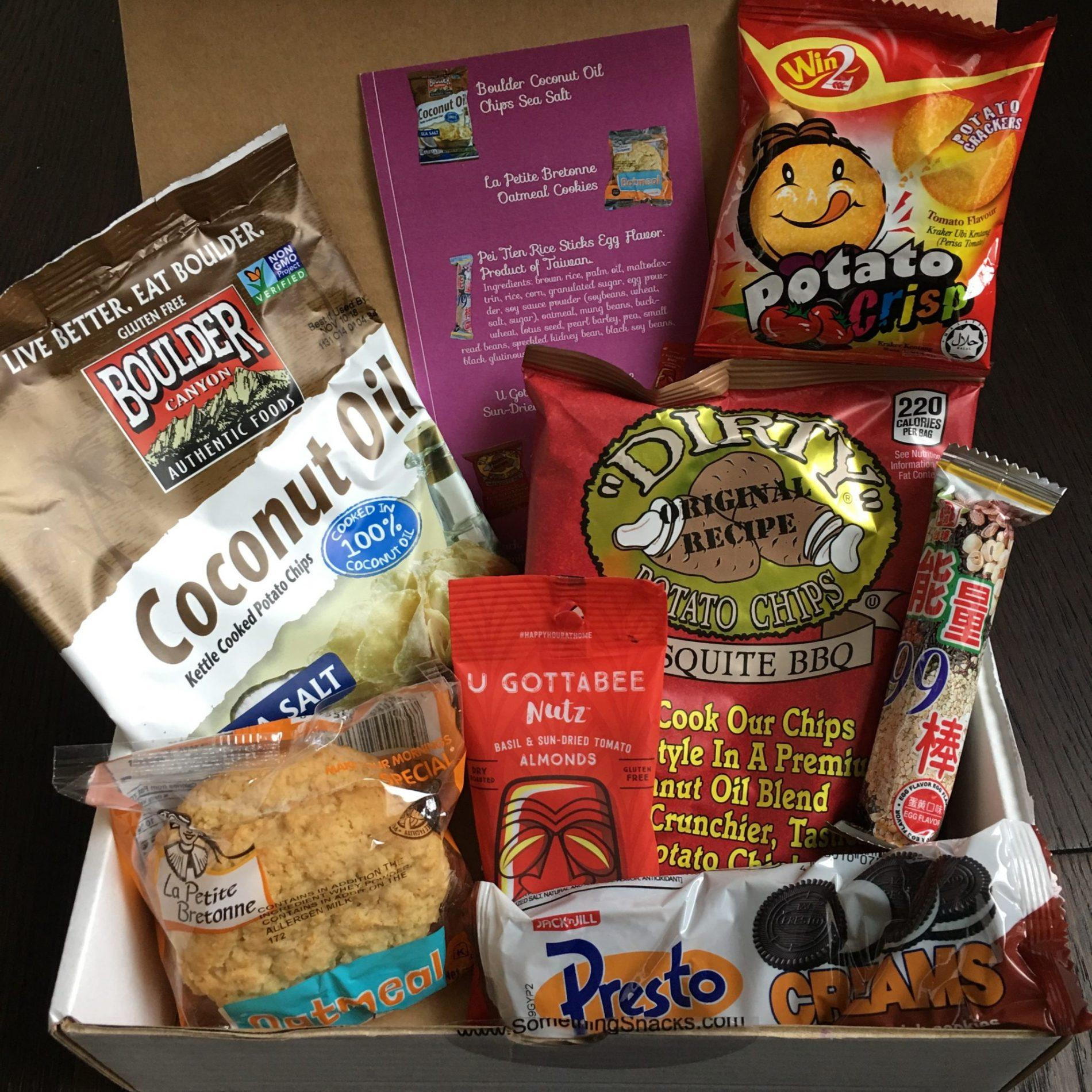 Something Snacks Review – October 2018