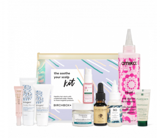 Birchbox The Soothe Your Scalp Kit + Coupon Code!