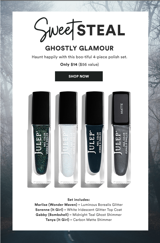 Julep: Ghostly Glamour Sweet Steal!