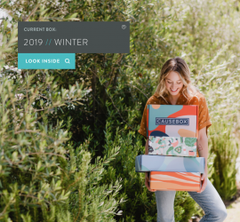 CAUSE BOX Winter 2018 Box On Sale Now + Coupon Code!
