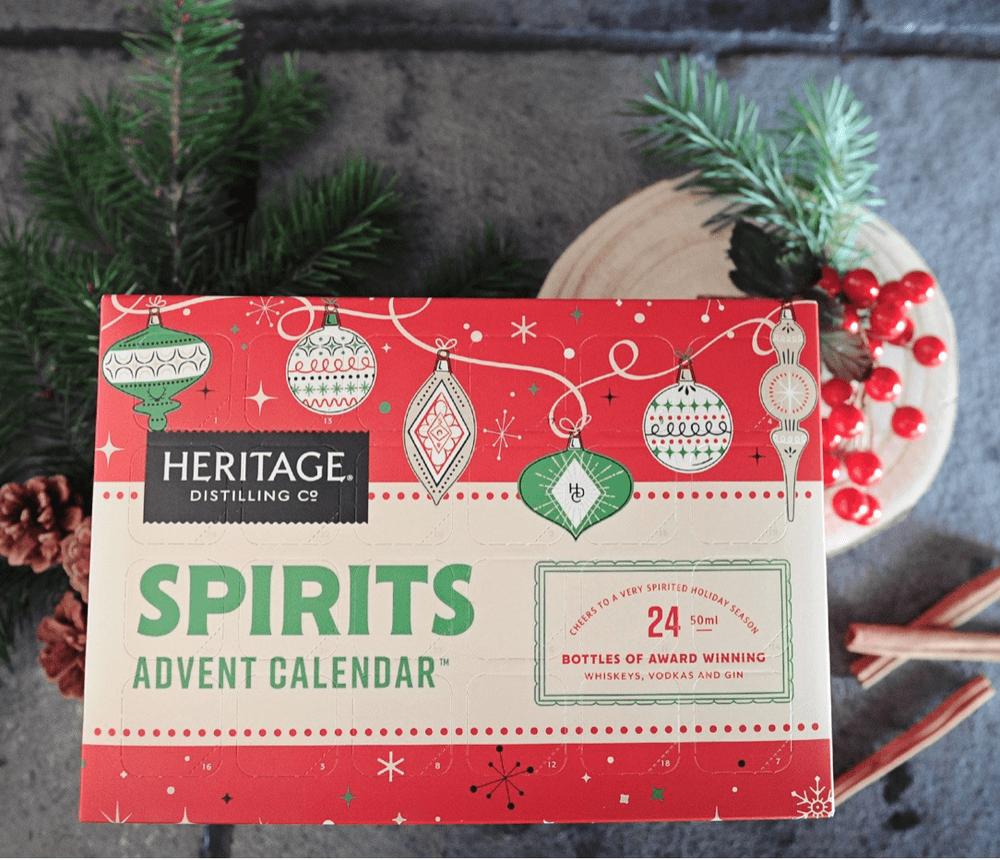 Heritage Distilling Co. 2018 Spirits Advent Calendar  – On Sale Now