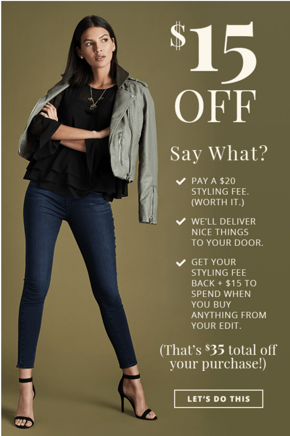 LAST DAY! Wantable Style or Fitness Edit – $15 Off Styling Fees!