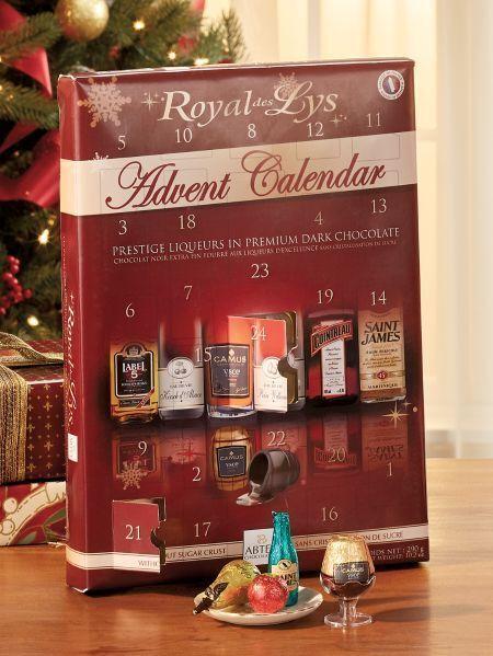 Royal Des Lys Liqueur Chocolate Advent Calendar By Abtey – On Sale Now!