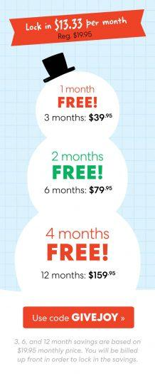 LAST CALL: KiwiCo Holiday Sale – Up to 4-Months Free