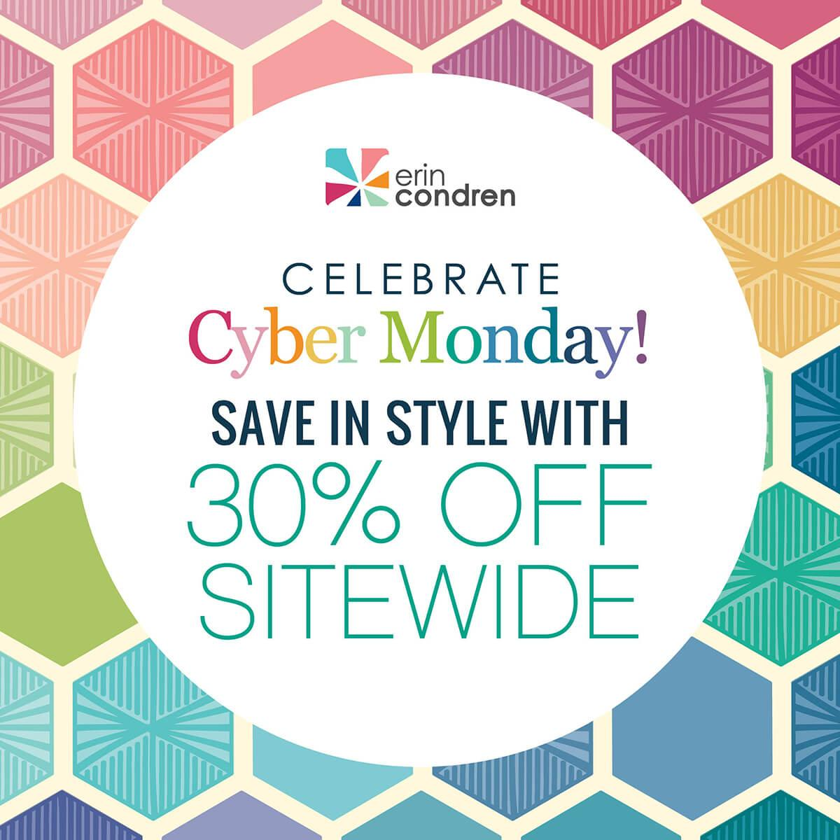 EXTENDED: Erin Condren Cyber Monday Sale – Save 30% Off EVERYTHING!