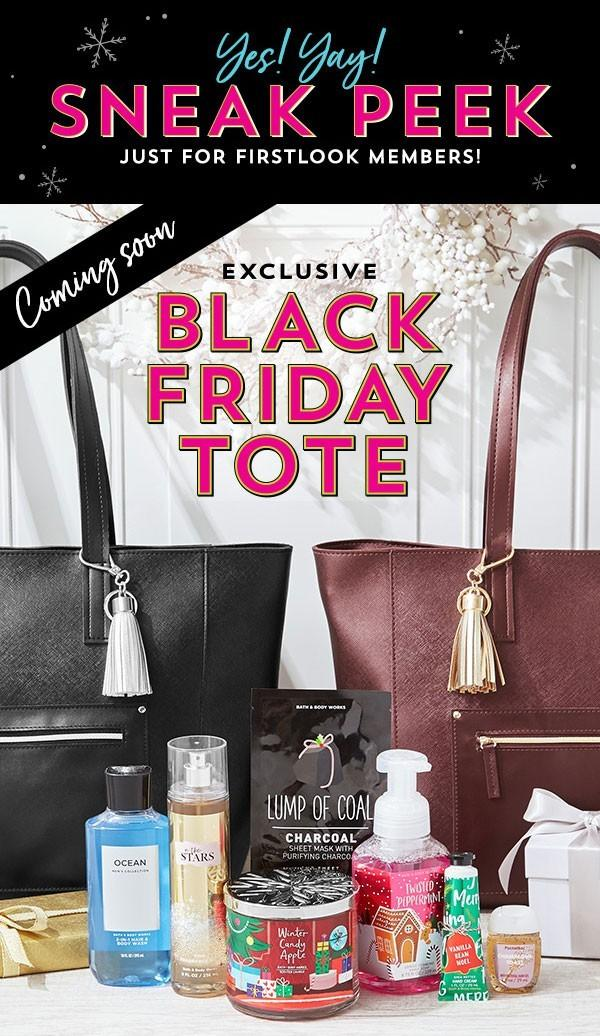 Bath Amp Body Works Black Friday 2018 Tote Coming Soon